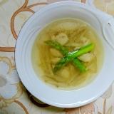 和風or洋風?牛蒡と鶏の二役スープ