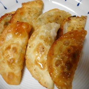 ニラ揚げ餃子