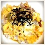 卵トロトロお汁トロトロ親子丼