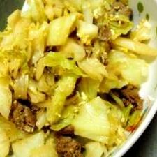 残り野菜で簡単野菜炒め物