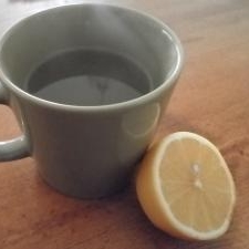 すっきりしたい時に・・・ホット蜂蜜レモン