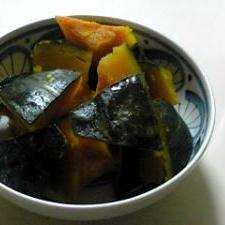 美味しい!かぼちゃの煮物。