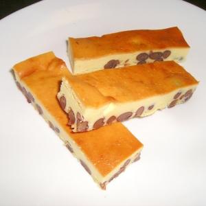 あずきチーズケーキバー