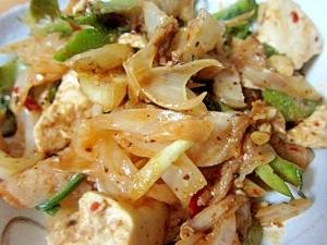 うりずんミミガ-野菜マーボー豆腐