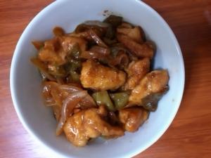 鶏胸肉の南蛮炒め