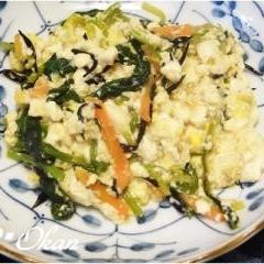 あるもので☆豆腐の炒め物