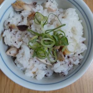 鯖とゆかりの混ぜご飯