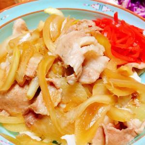 フライパン一つで簡単★豚丼