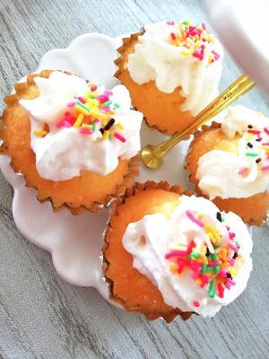 HMで簡単カップケーキ♡