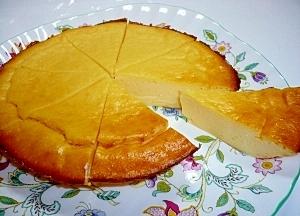 ルクエでめちゃ簡単☆しっとりチーズケーキ
