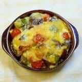 3種の野菜とささみのチーズ焼き♪