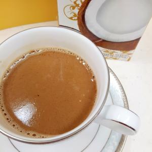 美容と健康に!(^^)ココナッツミルクコーヒー♪