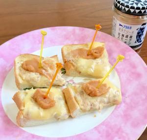 塗るテリーヌ×ツナマヨチーズのトースト