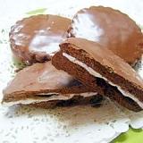 ふわふわマシュマロの♪可愛いチョコパイ