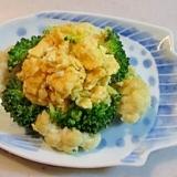 お弁当のおかず♪ブロッコリーとカリフラワーの卵炒め