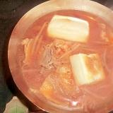 キムチスープでお雑煮