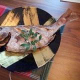 オーブン鯛