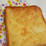 子供が喜ぶ!(^^)簡単メロンパン風トースト♪