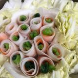 お野菜のお花鍋