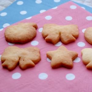 *子供と作ろう☆型抜きクッキー*