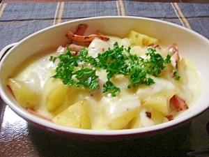 カルボナーラチーズ焼き