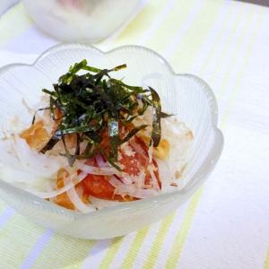 カリカリお揚げと玉葱のサラダ