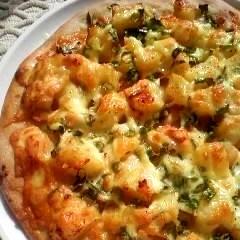 簡単!タラモピザ