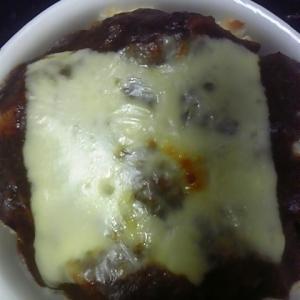 きゅうりのキューちゃんとカレーチーズ焼き