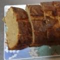 低糖質・小麦不使用のシナモンバナナレーズンケーキ
