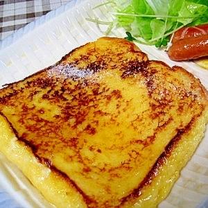 おいしい「フレンチトースト」の作り方