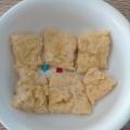 レンジで1分!豆腐でフワフワたまご焼き☆離乳食