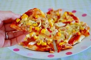 パン耳deピザ