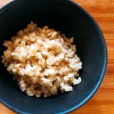 【食物繊維】炊飯器でもち麦10割炊き