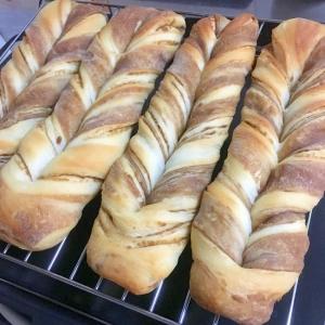 折り込みパン(市販のシート使用)