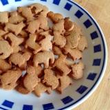 グルテンフリーのジンジャー型抜きクッキー