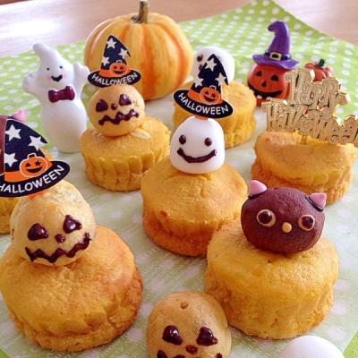 ハロウィン当日でも間に合う!簡単かわいいかぼちゃスイーツ