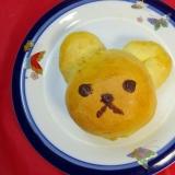 ♪クマさんのふわかわパン♪HBで簡単♪