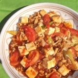 豆腐&トマト達のタイ風炒め