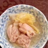 鶏肉と白菜煮込み