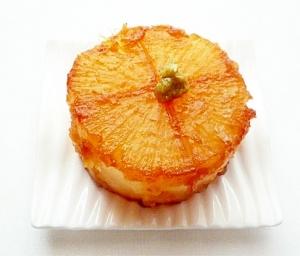 大根の照り焼き柚子胡椒