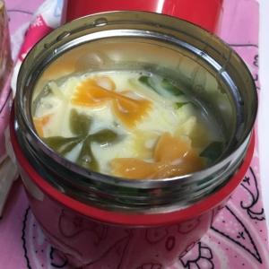 スープポットで時短!お弁当に温かい豆乳野菜スープ