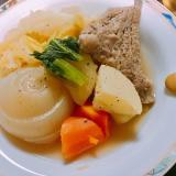 塩豚風ポトフ☆ほったらかし温か煮込みスープ