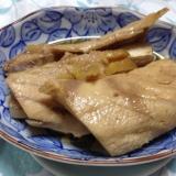 土生姜でブリのあら煮(*^^*)☆