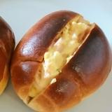 ロールパンのハム玉子サンド