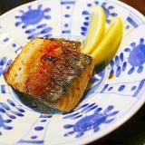 鯖のバター醬油焼き