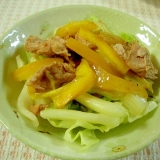 お弁当に!豚肉とキャベツの中華風生姜焼き♪