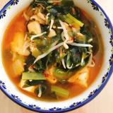 *ダイエット*キムチスープ豆腐ver