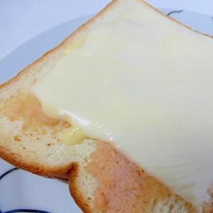 明太子チーズトースト