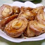 エリンギの豚肉で巻き巻き♪甘辛味