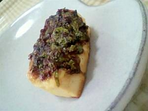 ふきのとうの豆腐田楽